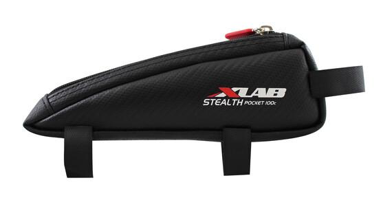 XLAB Stealth 100 Cykeltaske carbon sort
